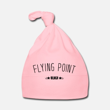 Sand Flying Point Beach lettering gift idea - Baby Cap