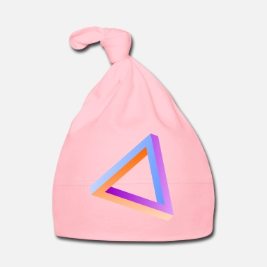 Triangle Impossible triangle optical illusion - Baby Cap
