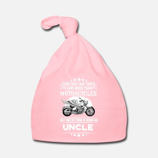 Speed Baby Clothes - Motorcycles Uncle - Baby Cap light pink