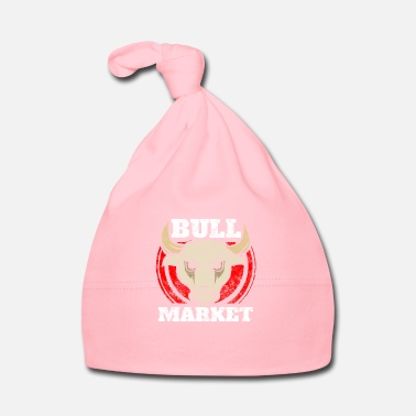 Mercato Azionario Bull Market - Finance - Stock Market - Stocks - Money - Cappellino neonato