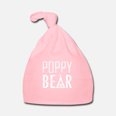 Fun Fun Cute Poppy Bear Graphics - Baby Cap