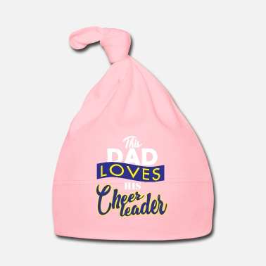 Fathers Day Cheerleader father - Baby Cap