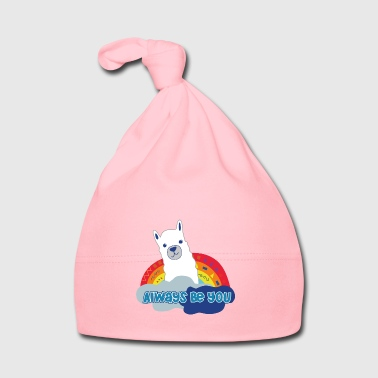 Always be you (Llama version) Farbe2 - Baby Mütze
