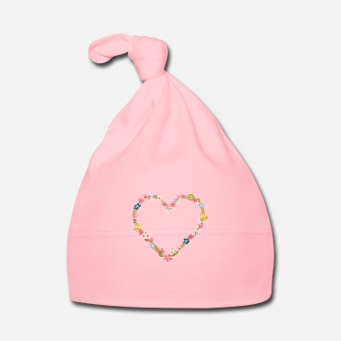 Celibenubile flower_power_heart - Cappellino neonato
