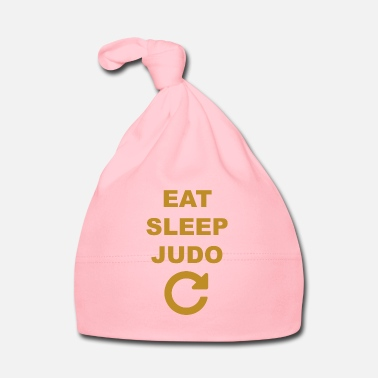 Judo Eat sleep Judo repeat - Gorro bebé