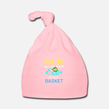 Merry Happy Easter Easter Bunny Merry Gift Idea Cool - Baby Cap