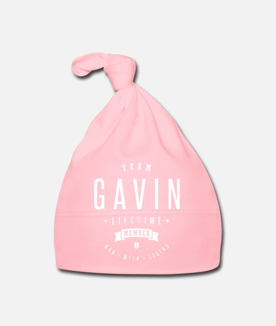 Legend Baby Caps - Gavin_shirt - Baby Cap light pink