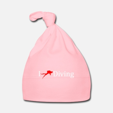 Diving I love diving deep sea gift idea - Baby Cap