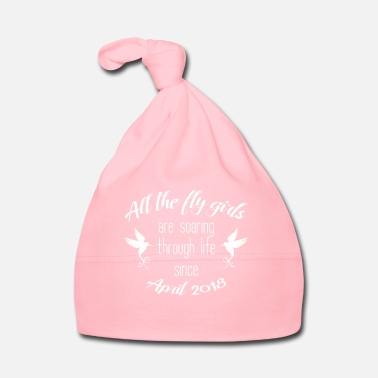 Birth BABY APRIL 2018 BIRTH BIRTHDAY COLIBRI GIFT - Baby Cap