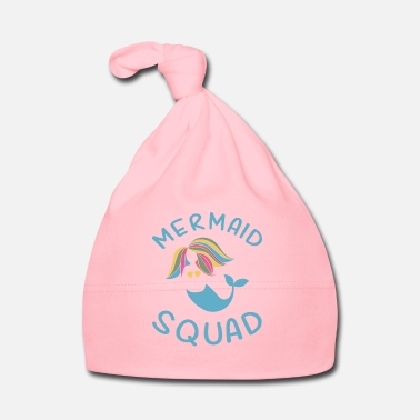 Creature Mermaid Squad Birthday Party Gift - Baby Cap