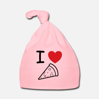 Hunger I love pizza gift idea - Baby Cap