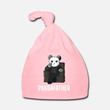 Fathers Day Panda father dad gift father's day idea bear suit - Baby Cap