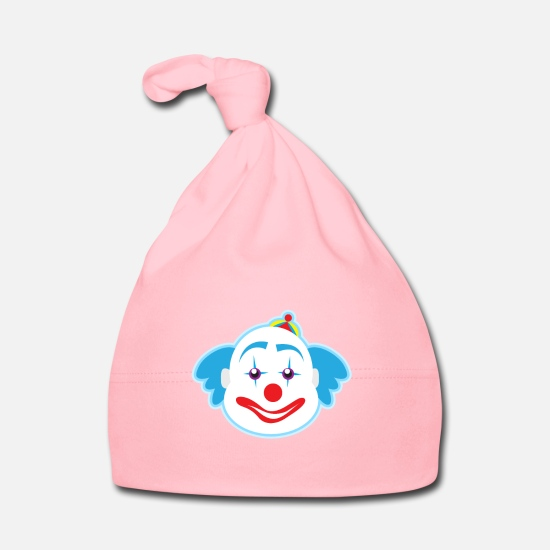 Birthday Baby Clothes - funny clown plants fruits vegetables kids motifs - Baby Cap light pink