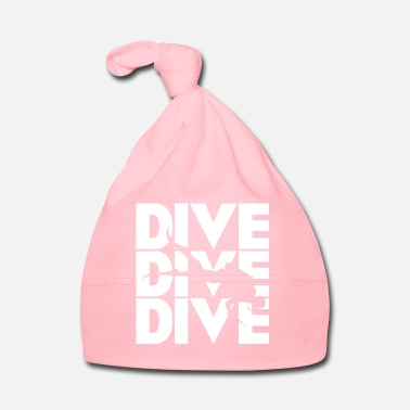 Diving dive diver dive white gift idea - Baby Cap
