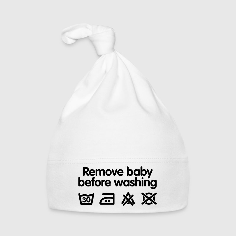 Remove baby before washing - Muts voor baby's