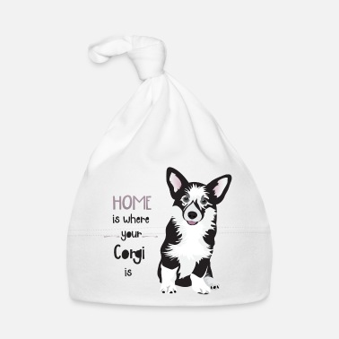 Ur HOME IS WHERE YOUR CORGI IS  - Muts voor baby's