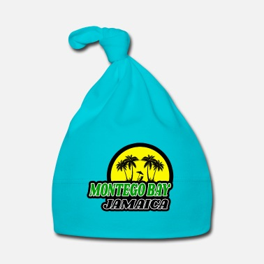 Isola Design / idea regalo Montego Bay Jamaica - Cappellino neonato