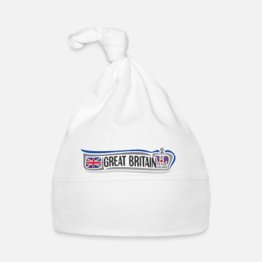 British UK Landmark United Kingdom Flag Travel Souvenir - Baby Cap