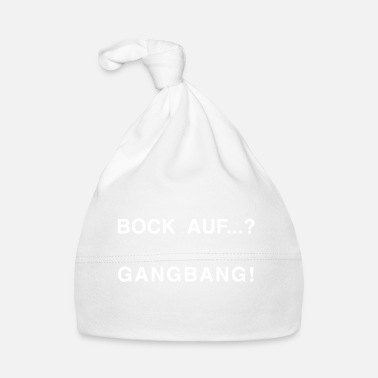Ligue Bock en ...? GANG BANG WHITE - Gorro bebé