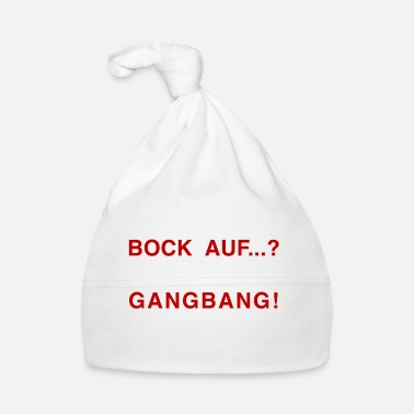 Ligue Bock en ...? GANG BANG RED - Gorro bebé