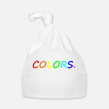 Color COLORS / colors / colorful / rainbow - Baby Cap
