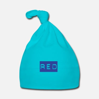 Lilac Red in Blue - Stroop Test Gift Idea - Baby Cap