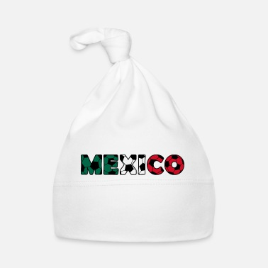 National Colours Mexico Soccer Flag Ball Sports National Colors - Baby Cap