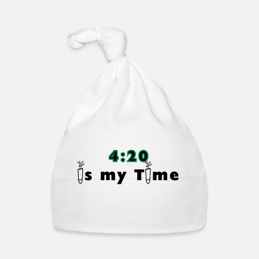 Grass 420 is my time grass cannabis gift idea - Baby Cap