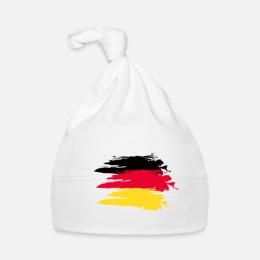 Smudge Germany smudge flag - Baby Cap