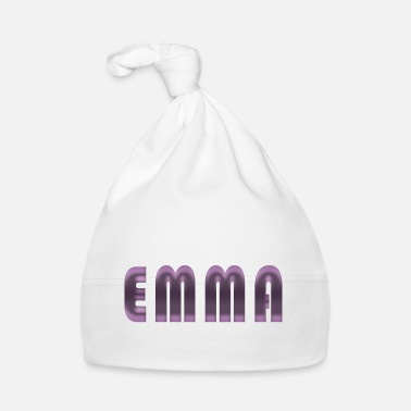 Birth Name Emma name first name name day birth gift idea - Baby Cap