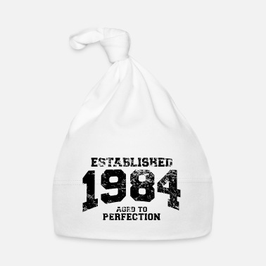 Bursdag established 1984 - aged to perfection(it) - Cappellino neonato
