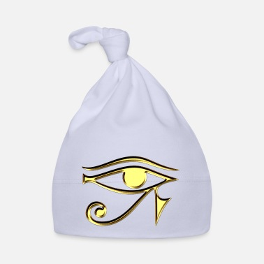 Udjat Eye Eye of Horus / udjat - right eye - sun eye / - Baby Cap
