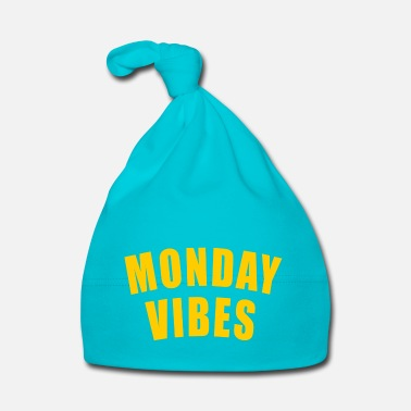Labour MONDAY VIBES GIFT MONDAY WEEK START OFFICE JOB - Baby Cap