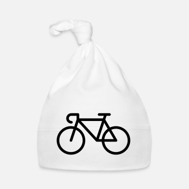 Pictograph Racing Bicycle / Bike (Icon / Pictogram) - Baby Cap
