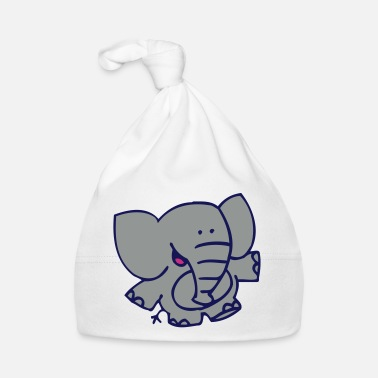 Little Elephant by Cheerful Madness!! - Baby Cap
