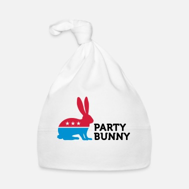 Politique Politiques Party Animals: lapin - Bonnet Bébé