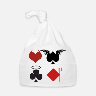 Black Jack Pokerin Black Jack Ass Perkele Perkele Angel Card Kasino - Vauvan myssy