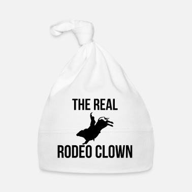 Western Riding Rodeo - Clown - Circus Western - Gift - Horse - Baby Cap
