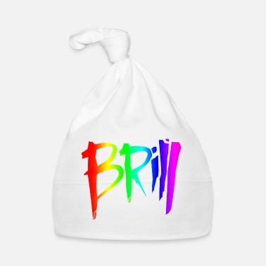 Brille Brill logo (no outline) - Baby Cap