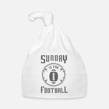 Rugby Sunday is for Football - awesome sports fandom - Bonnet Bébé