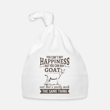 Hobby You can't buy happiness but you can buy goat - Gorro bebé