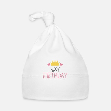 For Birthday Happy birthday krown for birthday with crown - Baby Cap