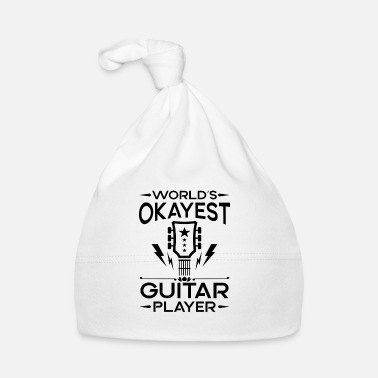 Country World's Okayest Guitar Player - cool band gift - Bonnet Bébé