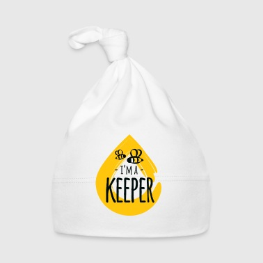 I Love I'm a Keeper honey animal insect beekeeper  - Cappellino neonato