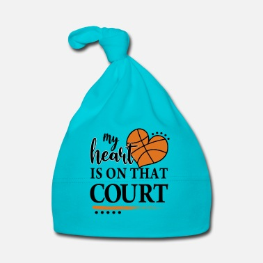 Court My Heart Is On That Court - Baby Cap