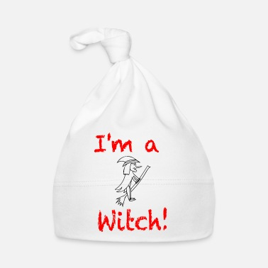 Abstract I am a witch / trend / sayings - Baby Cap