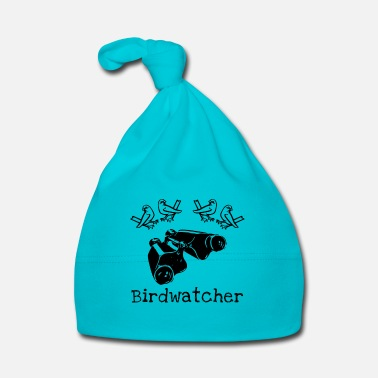 Ornithologist Birdwatching with Binoculars Ornithologist Bird - Baby Cap