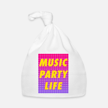 Party MUSIC PARTY LIFE - Baby Cap