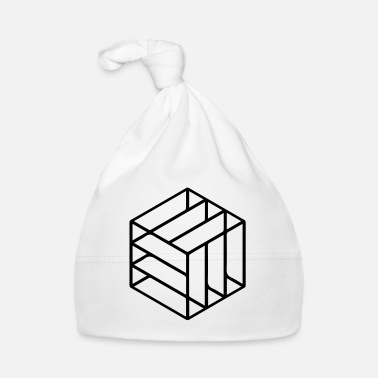 Cube Cuboid Abstract - Baby Cap