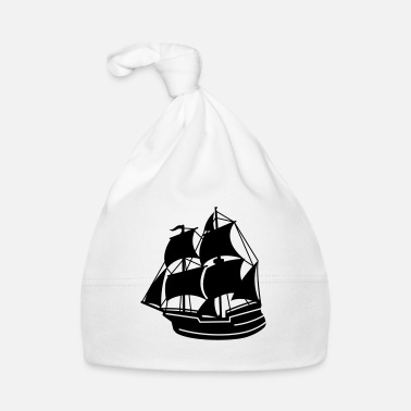 Pirate Ship pirate ship - Baby Cap